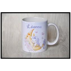 Mug Licorne lune