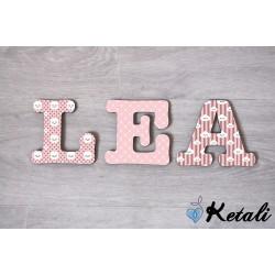 Lettres Baby nuage